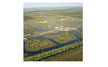 Aerial view of Save the Chimps, a sanctuary in Fort Pierce, FL<br />Photo credit: Save the Chimps, Inc.<br />