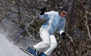 Photo: Skier at Sugar Mountain Resort. Courtesy: Sugar Mountain Resort