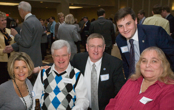 PHOTO: Dan and Brenda Dillon, at the Disability Community's legislative reception last year. Courtesy Tennessee Disability Coalition.