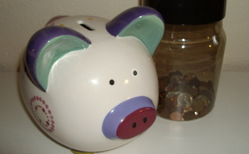 PHOTO: Piggy banks and coin jars aren't getting much attention in Arkansas homes. A new CFED report says 52 percent of Arkansans don't have emergency savings to last three months.