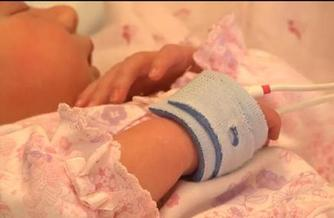 PHOTO: Advocates say the Pulse Oximetry test is simple, inexpensive and will save lives if included as part of the state's mandatory newborn screenings. Courtesy AHA Minnesota