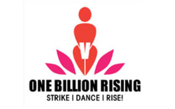 GRAPHIC: About 100 Wyomingites are hitting the Capitol with a flash mob today to draw attention to violence against women. It's part of an international day of action called One Billion Rising.