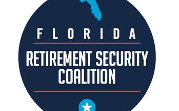 Photo: Florida Retirement Security Coalition logo. Courtesy FRSC