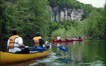 PHOTO: Canoe trips on the Buffalo River are just one way folks are boosting the outdoor recreation economy in Arkansas. Courtesy Arkansas Dept. of Parks & Tourism