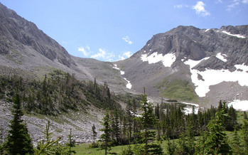 PHOTO: Montana's Senator Baucus has reintroduced the Rocky Mountain Front Heritage Act - which would add about 67,000 acres to the Bob Marshall Wilderness Complex. Photo credit: Lee Kramer.