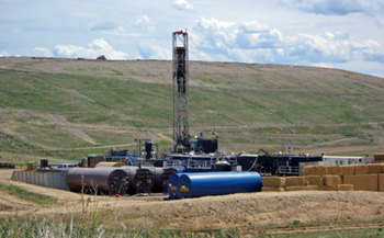 Violators of fracking waste laws may soon face tougher penalties in the Buckeye State. Photo courtesy of Western Resource Advocates