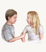 ILLUSTRATION: A new study finds bullied children are more likely to grow into adults with anxiety disorders and depression. Image courtesy of: JAMA Psychiatry