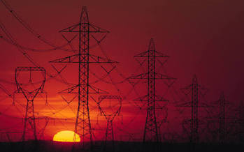 PHOTO: A report from the Center for Rural Affairs finds that expanding the electric transmission grid is key to a clean energy future.