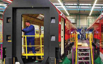 Around 500 Midwestern companies are building rail cars or components for high-speed rail  Courtesy of: ELPC