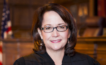 Photo: Indiana Supreme Court Justice Loretta Rush has been appointed by the high court to the proposed Commission on the Status of Children.  Courtesy Indiana Supreme Court.