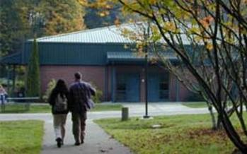 PHOTO: South Puget Sound Community College is one of many WA schools where students face a loss of funding.