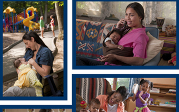 WIC provides supplemental foods, health care referral, breast feeding support to women and babies.  Courtesy of: usda.gov