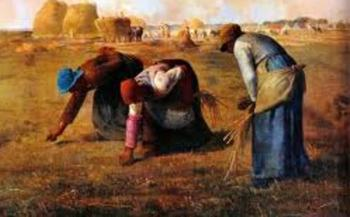 PHOTO: Gleaners, immortalized in this 1857 French oil painting by Jean-Francois Millet, are still hard at work in Oregon – at farmers' markets, in local gardens and yards as well as in the fields. Photo from Wikipedia.