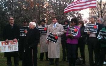 PHOTO: Some groups are urging Gov. McDonnell to veto 'Voter ID' bills, saying they will restrict some people from voting. Courtesy of Virginia Interfaith Center for Public Policy.
