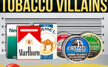 PHOTO: The most popular (and most widely advertised) tobacco brands are known as