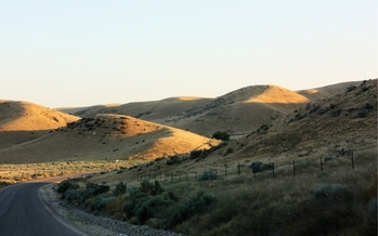 PHOTO: The Boise Foothills are made up of federal lands. The Idaho Legislature is considering a resolution to demand that federal public lands be turned over to the state. Photo credit: Deborah C. Smith