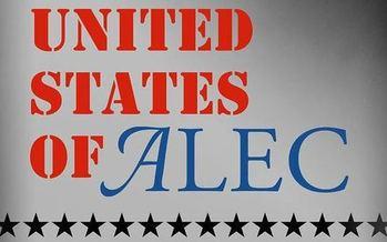 Photo: Movie logo. Courtesy: United States of ALEC