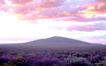PHOTO: Ute Mountain is part of the new Rio Grande del Norte National Monument. Photo credit: Stuart Wilde<br />