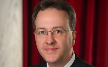 PHOTO: State Supreme Court Justice Allen Loughry won his seat using public financing, much to the surprise of political observers. Photo courtesy of the state Supreme Court.