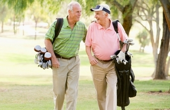 PHOTO: This won't be you in retirement � if you can't afford to retire. AARP Washington says 462,000 Washingtonians over 45 have less than $25,000 saved for the future. Photo courtesy of teachmehowtogolf.com.