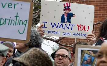 Photo: Maryland Gun Control activists hope Congress will learn a lesson from the Maryland General Assembly. Photo: Executive Office of the Governor