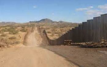 PHOTO: The U.S. Senate immigration reform bill would spend an additional five billion dollars on security along the border with Mexico. CREDIT: Matt Clark, Defenders of Wildlife.