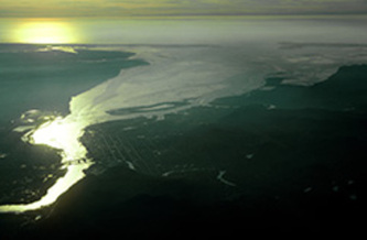 PHOTO: Ariel view of Grays Harbor. Photo Credit: Quinault Indian Nation