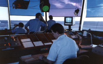PHOTO: Air Traffic Controllers' furloughs -- blamed for widespread air travel delays -- will end following rapid passage of a bill addressing one slice of sequestration cuts. Critics question Congress' priorities. Courtesy FAA.