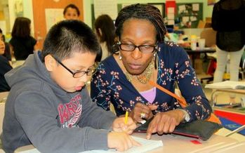 PHOTO: More Experience Corps volunteers will be in Maryland schools. Photo credit: AARP Maryland