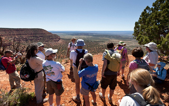 PHOTO: Hikes at this year's Amazing Earthfest in Kanab, Utah, range from challenging climbs to archaeological sites, to walks on the Kanab Municipal Trails System. Either way, the scenery is spectacular. Courtesy Amazing Earthfest.