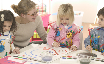 PHOTO: Preschool teachers are projected to be one of the faster growing sectors of the job market. Courtesy Qualistar Colorado.
