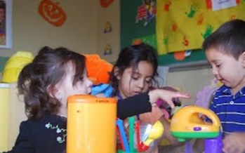 The Promise to Play, Preschool for All program serves children from birth to three in suburban Palatine.  Courtesy of: ecdec.org