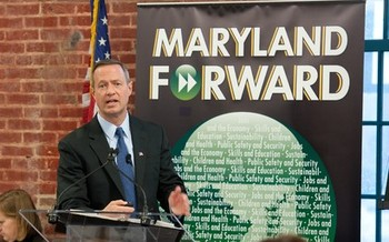 PHOTO: Maryland Governor Martin O'Malley is scheduled to deliver address in Washington, D.C. today (Thursday) about how progressive policies at the state and local level can boost the middle class. Photo credit: Executive Office of the Governor