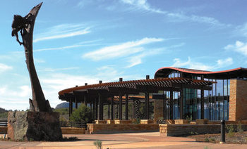 PHOTO: The new Mesa Verde Visitor & Research Center at Mesa Verde National Park will be open from 7:30 a.m. to 7:00 p.m. through the summer. Courtesy of National Park Service.