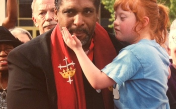 PHOTO: Rev. Dr. William Barber is pictured at a recent