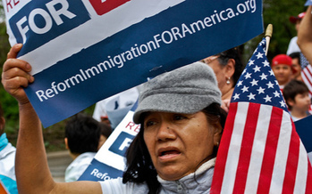 PHOTO: As immigration reform is debated in Washington, D.C., polling finds a majority in Tennessee wants something done, including a path to citizenship. CREDIT: Sasha Y. Kimel