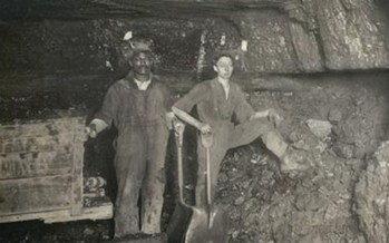 PHOTO: Many say West Virginia's history has been in part defined by African-American history, starting with the role of slavery in the civil war, but later including early integration in the coalfields. Photo from the Library of Congress.