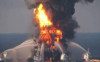 Photo: Deepwater Horizon explosion. Courtesy: Florida National Wildlife Federation