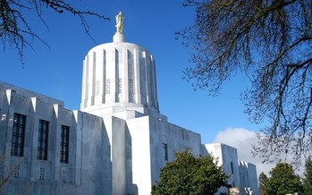 PHOTO: Groups that provide emergency services in Oregon have their eyes on the State Capitol to see if lawmakers can find last-minute additional funding to help house people in crisis. Photo credit: US-Pictures.com.