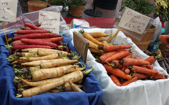 PHOTO: The number of farmers markets in Idaho is up to 51 this season. There were 20 in 2000. Markets aren't just for foodies, many offer products at many price points and some accept food stamps. Photo credit: Deborah C. Smith.