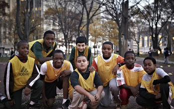 PHOTO: Soccer for Success participant. Photo credit: Jeff Saunders