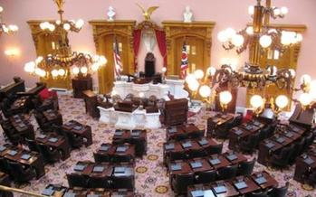 PHOTO: The Ohio state budget goes into effect today, but the General Assembly did not include in it Governor John Kasich�s plans to expand Medicaid. Photo of the Ohio Statehouse. Credit ohiostatehouse.org.