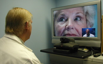 PHOTO:  A change in Kentucky's telehealth regulations is making more providers and services available to Medicaid patients through video link.  Photo courtesy University of Kentucky.