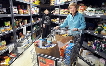 PHOTO: The 4th Annual Food Shelf Summer Challenge is underway at more than 160 food shelves across the state. Donations will be matched proportionally with $150,000 available overall. CREDIT: Hunger Solutions Minnesota