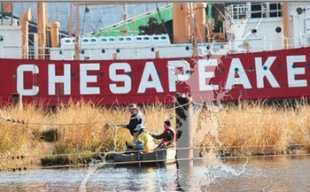 PHOTO: The University of Maryland Center for Environmental Science is raising the grade for the Chesapeake Bay's overall health. Photo credit: UMCES