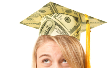 PHOTO: High student debt is prompting a surge of interest in the
