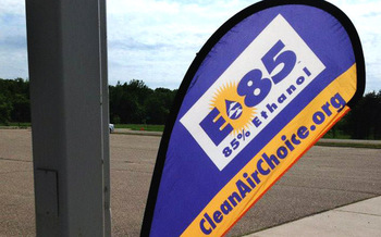Drivers of flex-fuel vehicles in Wisconsin could get a free fill-up from the Clean Air Choice Team.
