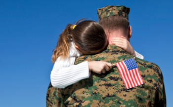 PHOTO: Military families make up just over 6 percent of those receiving federal tax credits for low-income households, according to a new CBPP report. Photo credit: iStockphoto.com.