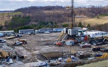 PHOTO: A new report from Environment Ohio questions the costs of hydraulic fracturing, or fracking, in Ohio, and who will be left footing the bill when drillers pull out of town. Photo courtesy of Environment Ohio.