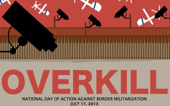 PHOTO: Saying it would lead to one of the most militarized border zones in the world, those opposed to the